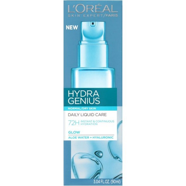 Hydra Genius Daily Hydration Day & Night Moisturizer, Normal/Dry Skin, 3.04