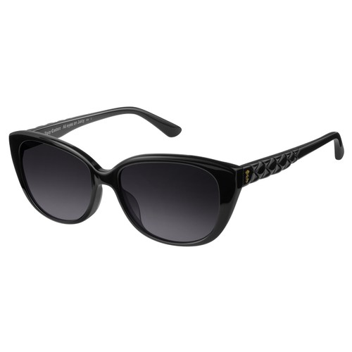 Juicy Couture Womens Sunglasses JU600S 8079O Black Cat Eye Gradient