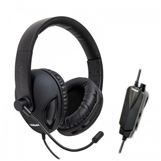 COBRA510 NC2 USB 2.0 5.1 True Surround Sound Gaming Headset