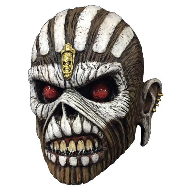 Book Of Souls Iron Maiden Latex Mask