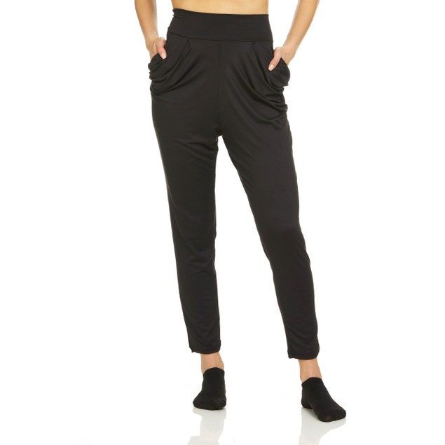 Women's Super Soft High Waisted Harem Pants