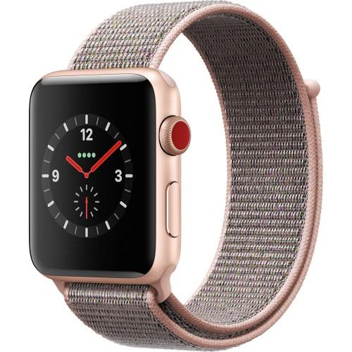 Apple Watch Series 3 42mm, Unlocked, Gold, 16 in, 1.65 in Screen