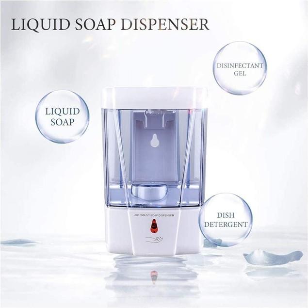 Touchless Foaming Soap Dispenser With Infrared Motion Sensor - 700ml