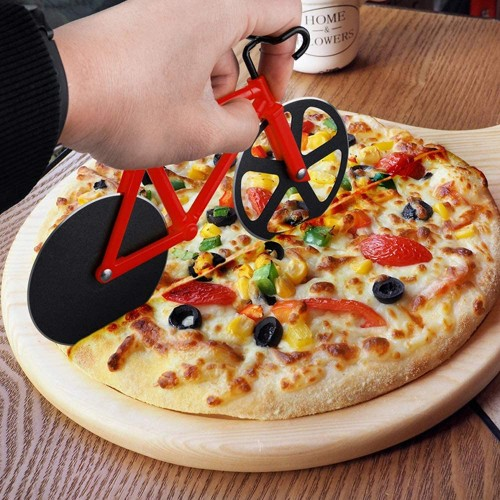 Stainless Steel Pizza Cutter - 3 Colors