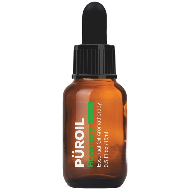 Puroil Rosemary Essential Oil, Herbaceous Sweet & Slightly Camphorous, 0.5