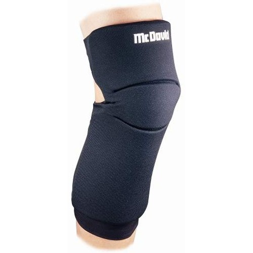 "McDavid 647R-B Latex Free Neoprene Knee Sliding Pad, X-Small: 12""-1`4"","