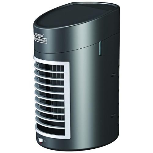 Desktop Portable Air Cooler Cools Circulates Moist Air Adapter Included