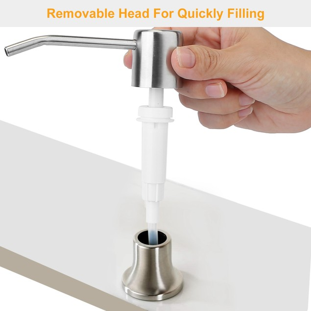 Soap Dispenser For Kitchen Sink