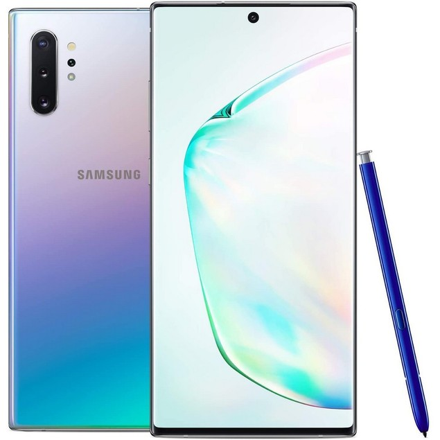 Samsung Galaxy Note 10+ 5G, AT&T, Gray, 256 GB, 6.8 in Screen