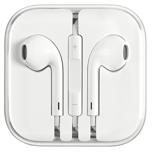 iPhone Earphones for iPhone 6 5 4S w/Remote & Mic (Refurbished)