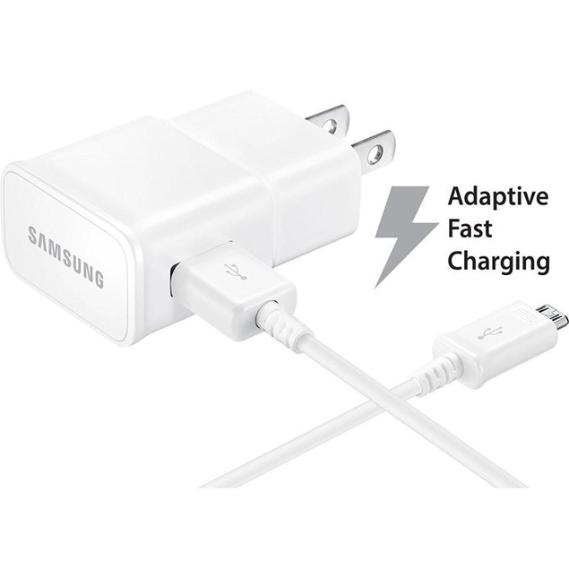 Samsung Adaptive Fast Charging Wall Charger with Micro USB - White