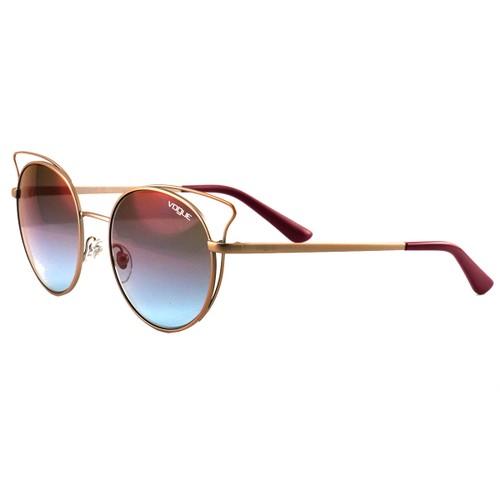 Vogue Sunglasses VO4048S 5075H7 Pink/Gold/Pink Gradient Full Rim Metal 52 18 135