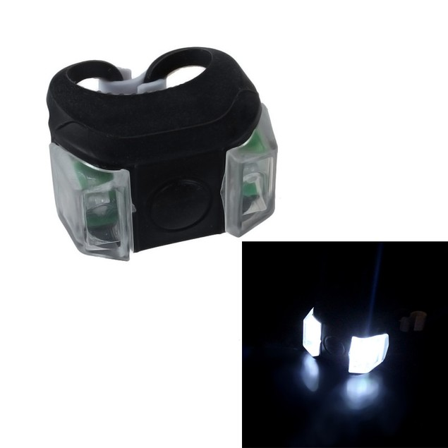 Silicone Bicycle Safety Lighting LED Light Lamp Flashlight Bike