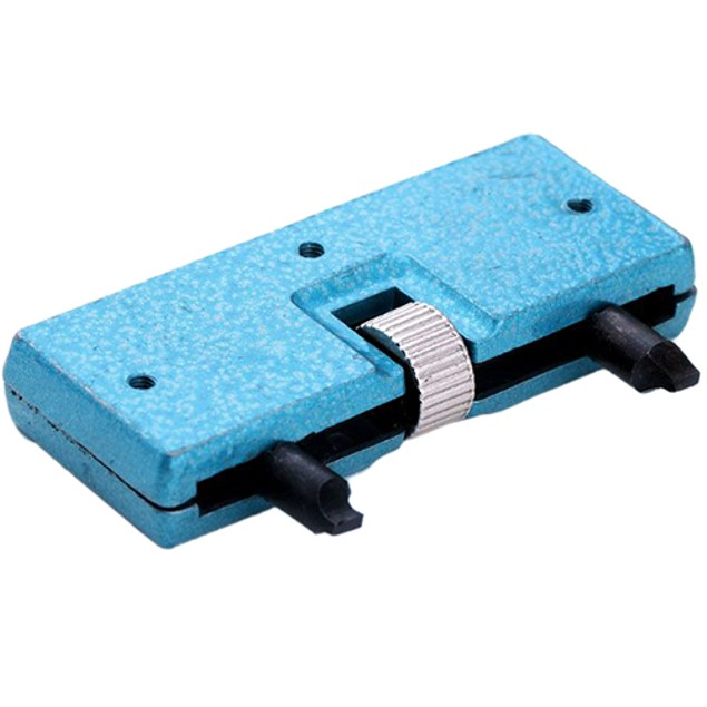 Rectangle Watch Back Case Cover Opener Remover Wrench Repair Kit Tool