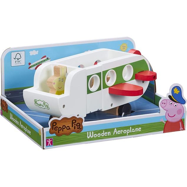 Peppa Pig Wooden Aeroplane