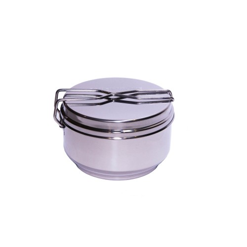 QuickStove Portable Stainless Steel Camp CookPot for Survival Kits, Camping