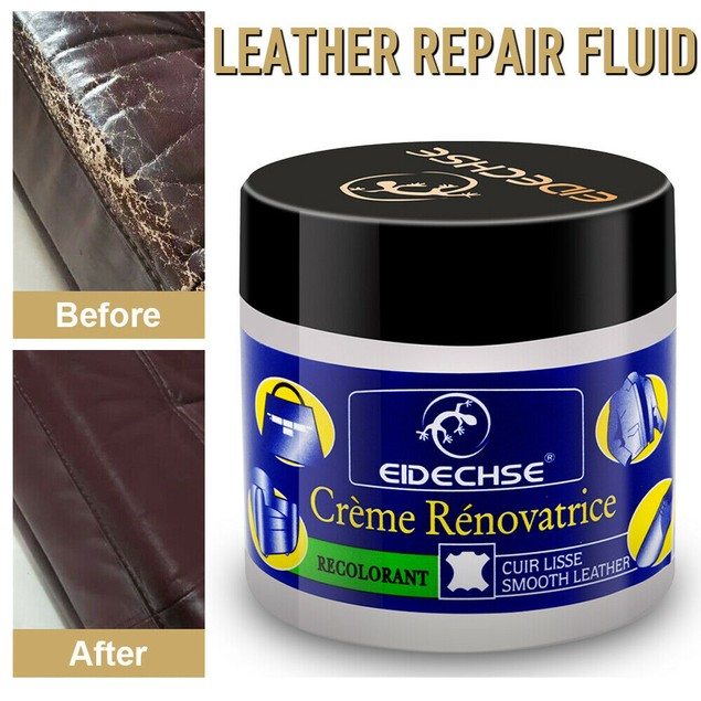 Leather Vinyl Repair Cream Compound Filler Leather Cracks Hole Restoration