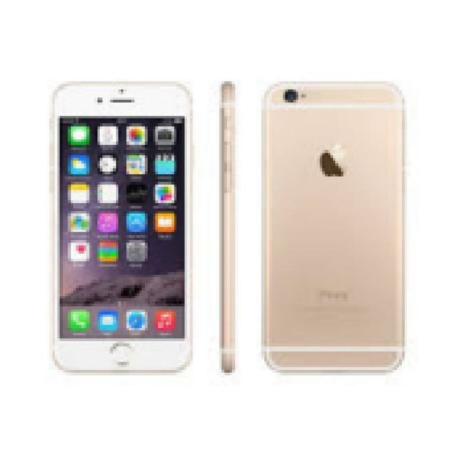 Apple iPhone 6 Plus, AT&T, Gold, 64 GB, 5.5 in Screen