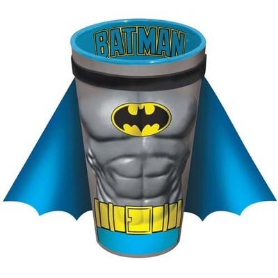 Batman Chest Pint Glass With Cape Muscles Crusader DC Comics Dark Knight