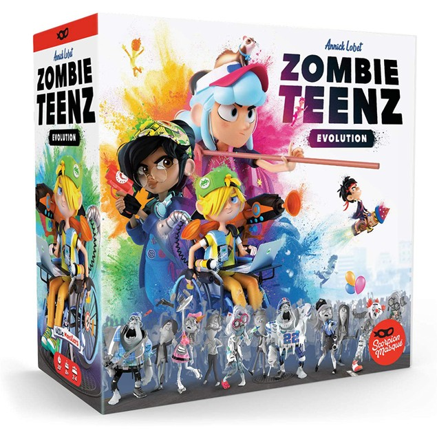Zombie Teenz Evolution Board Game