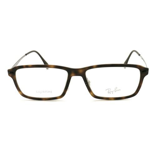 Ray Ban Men's Eyeglasses RX7038 5200 Matt Havana 53 16 135 Demo Lens LigthRay