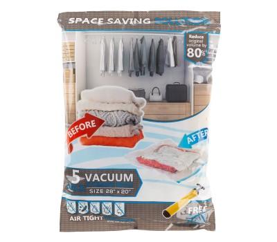 5 Vacuum Storage Bags-Space Saving Air Tight Compression (Medium) Was: $29.99 Now: $20.99.