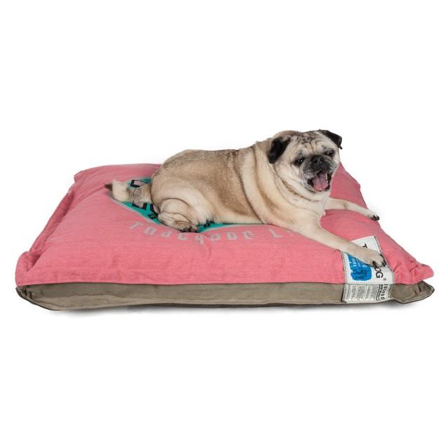 Touchdog Sporty Shock-Stitched Reversible Rectangular Thick Dog Mat