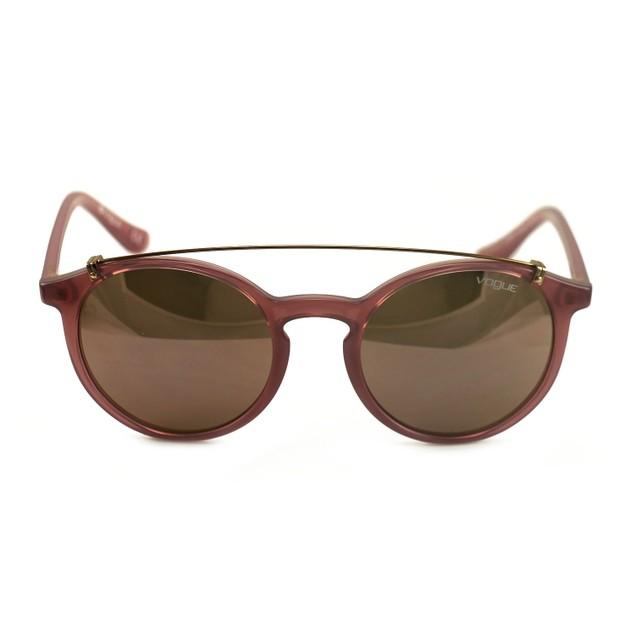 Vogue Women's Sunglasses VO5161S 25355R Pink Clear 51 20 135 Full Rim