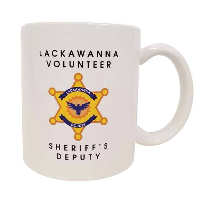 Lackawanna Volunteer Sheriff's Deputy Dwight Schrute 11 oz Coffee Mug