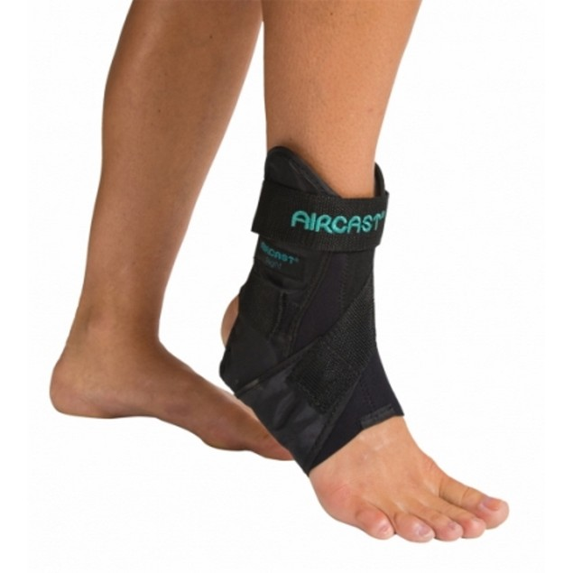 Aircast 02MXSL AirSport Ankle Brace Prevent Ankle Sprains, Left, X-Small,