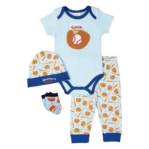 4 Piece Infant set 0-6M