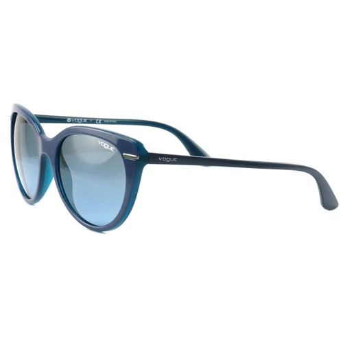 Vogue Sunglasses VO2941S 2278/8F Blue/Opal Light Blue Full Rim Plastic 56 18 140