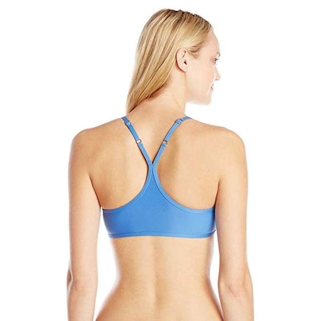 Splendid Women's Hampton Solid Removable Soft Bra Bikini Top, Blue SZ