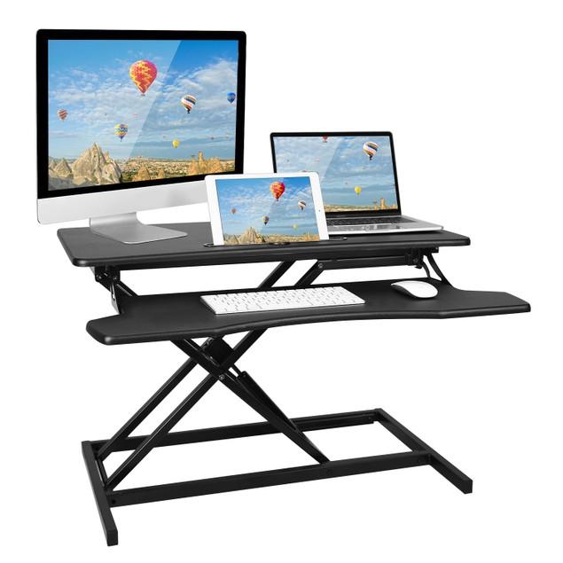 Height Adjustable Standing Desk Converter Workstation