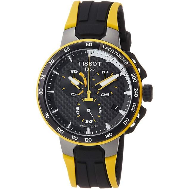 Tissot Men's T-Race Black Dial Watch - T1114173720100
