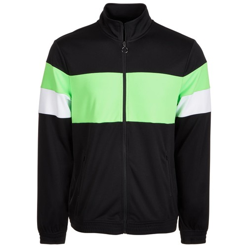 ID Ideology Men's Colorblocked Track Jacket Green Size XX Large