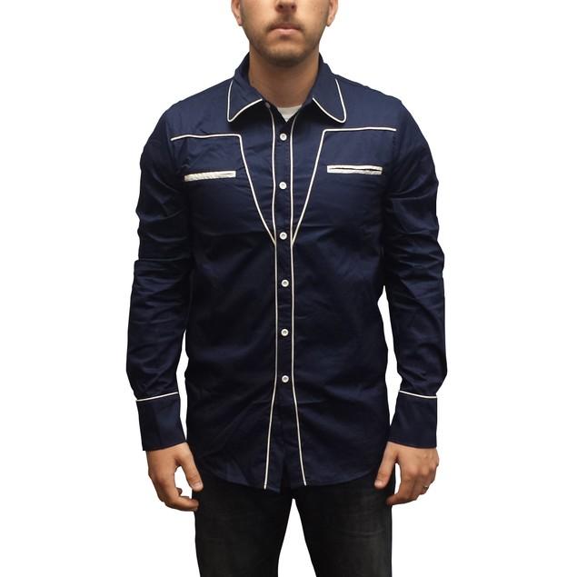 Seth's Cowboy Button Down Shirt
