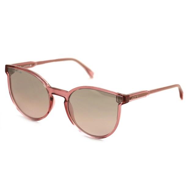 Lacoste Women Sunglasses L896S 662 Pink Full Rim 54 19 140
