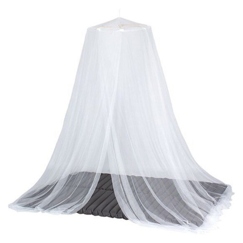 Universal White Dome Mosquito Mesh Net Easy Installation Bed Canopy Netting