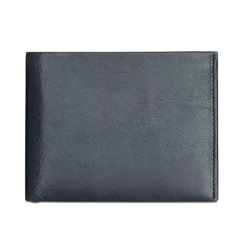 Perry Ellis Portfolio Men's Leather Card Case Blue Size Regular