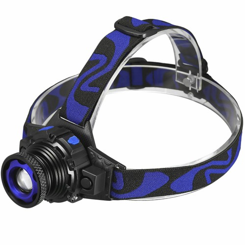 36000LM Zoomable Headlamp T6 LED Headlight Lamp