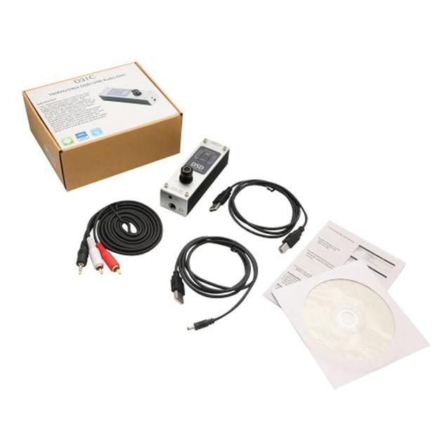 USB DSD 192 KHz/24bit DAC