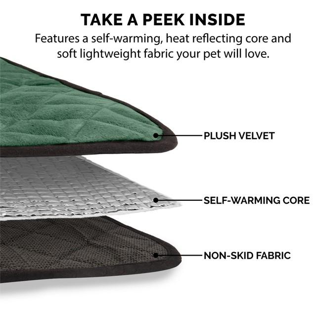 FurHaven ThermaNAP Plush Velvet SelfWarming Pet Blanket