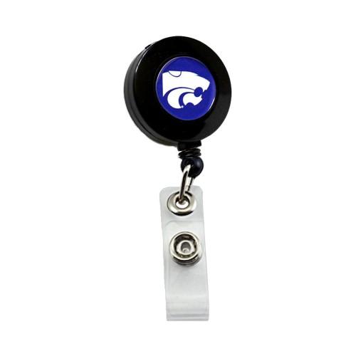 Kansas State Wildcats Retractable Badge Reel Id Ticket Clip