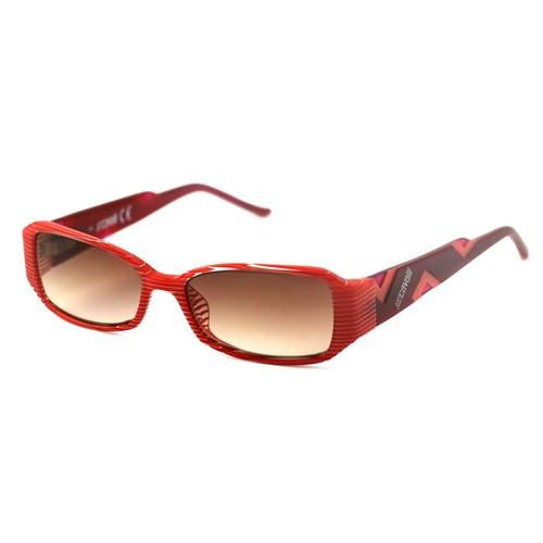 Just Cavalli Women's Sunglasses JC0230 068 Red/White 52 15 135 Rectangular