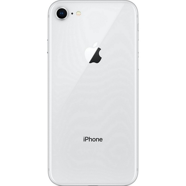 Apple iPhone 8, AT&T, Grade B+, Silver, 64 GB, 4.7 in Screen