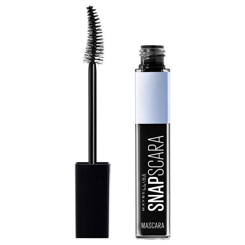 Maybelline New York Snapscara Washable Mascara, Pitch Black, 0.34 Fluid Ou