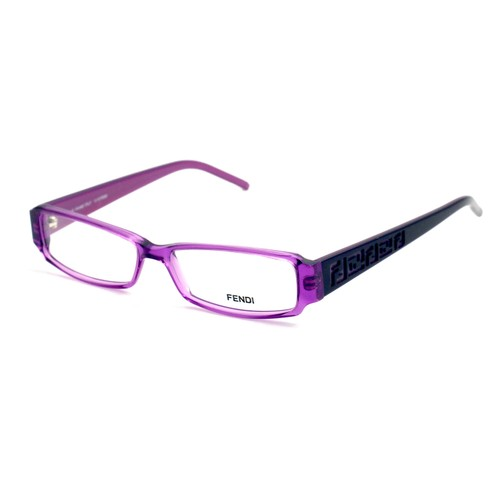 Fendi Eyeglasses Women Purple Full Rim Rectangle 51 14 140 F664 536