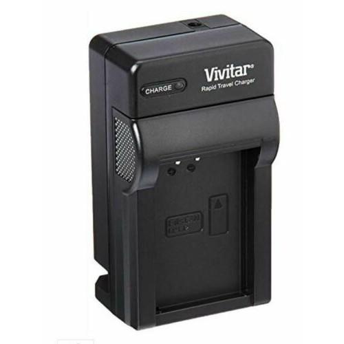 Vivitar MH-24 Replacement Rapid Charger for Nikon EN-EL14 Battery Compatible with D5600 D3500 D5500 D3400