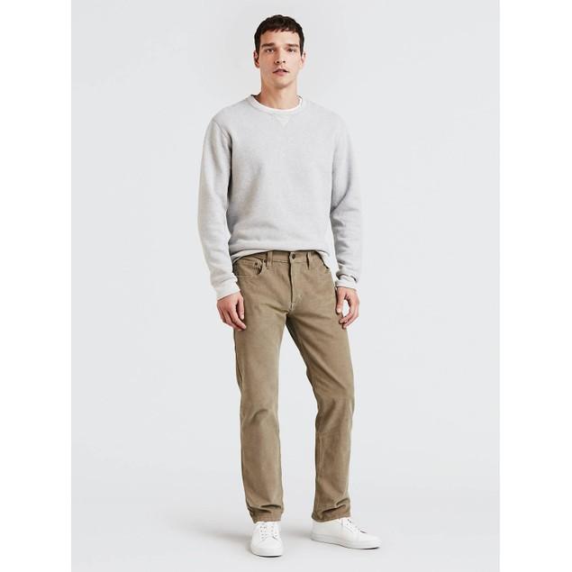Levi's Men's 502 Taper Corduroy Pants Tan Size 34x34